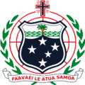 Coat of arms of Samoa.png