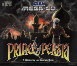 Prince of Persia Mega-CD Cover
