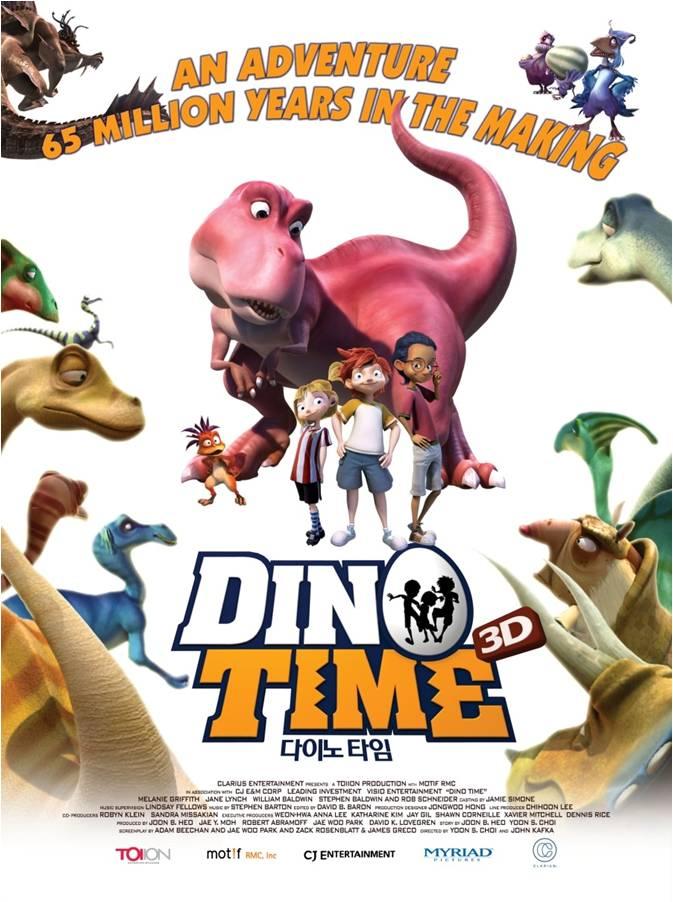 دانلود انیمیشن عصر دایناسور دوبله فارسی Dino Time 2012