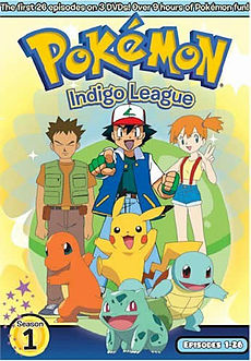DVD cover for Pokémon: Indigo League DVD box set