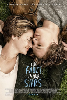 Movie poster featuring Shailene Woodley and Ansel Elgort in character