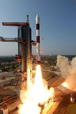 PSLV-C8 rocket lifting off from Sriharikota
