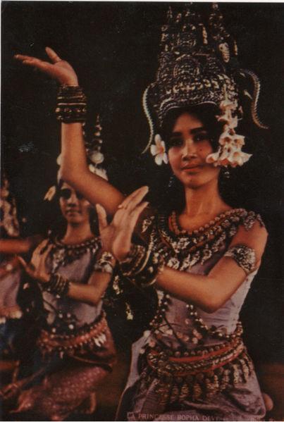 राजकन्या भोपादेवी अप्सरा नृत्य करताना