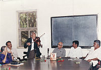 Arun Kamble with S.S.Rege.jpg