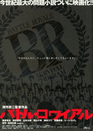 Poster tayangan pawagam filem Battle Royale