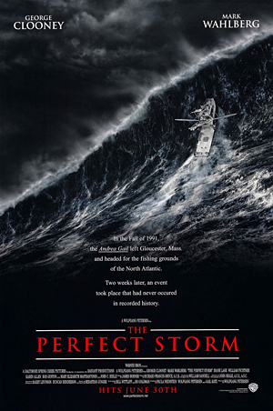 Poster tayangan pawagam filem The Perfect Storm