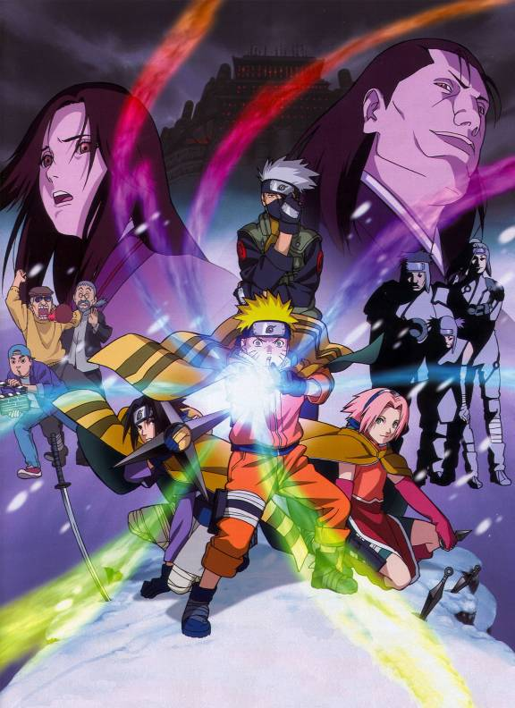 naruto the movie ninja clash in the land of snow