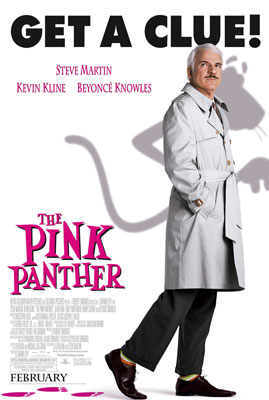 Poster tayangan pawagam filem The Pink Panther, 2006