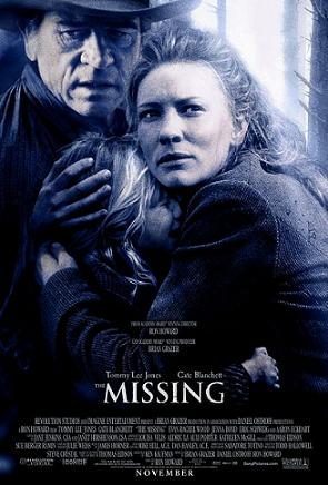 Poster tayangan pawagam filem The Missing
