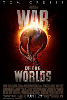 Poster tayangan pawagam filem War of the Worlds, 2005