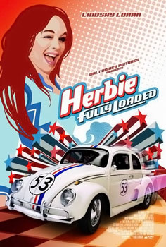 Poster tayangan pawagam filem Herbie Fully Loaded