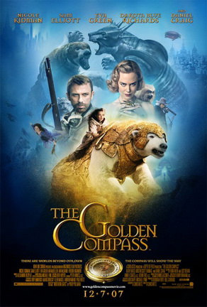 Poster tayangan pawagam filem The Golden Compass