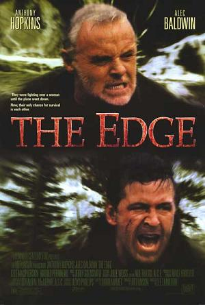 Poster tayangan pawagam filem The Edge, 1997