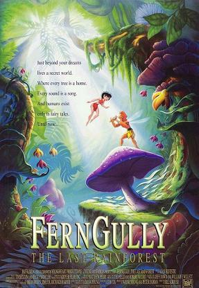 Poster tayangan pawagam filem FernGully: The Last Rainforest