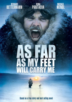 Poster tayangan pawagam filem As Far As My Feet Will Carry Me