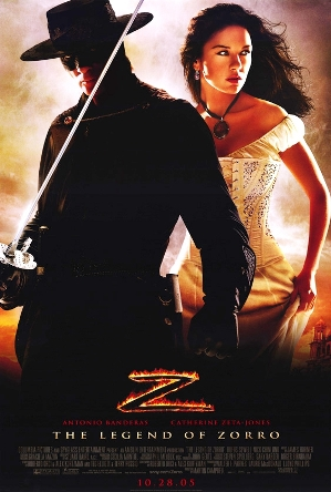 Poster tayangan pawagam filem The Legend of Zorro