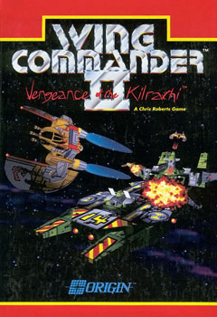 Wing Commander II box art