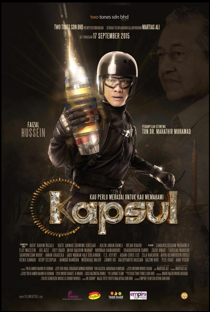 Poster Filem Kapsul