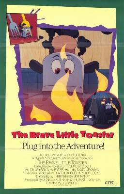 Poster tayangan pawagam filem The Brave Little Toaster