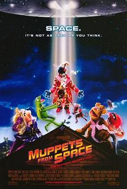Poster tayangan pawagam filem Muppets from Space