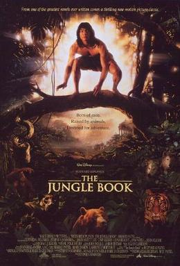 Poster tayangan pawagam filem The Jungle Book, 1994