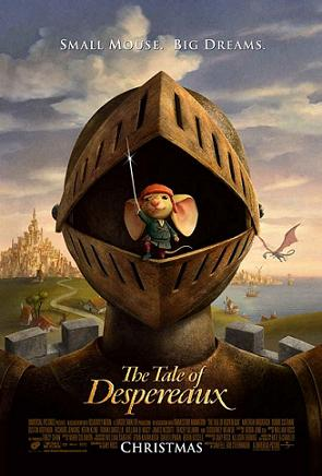 Poster tayangan pawagam filem The Tale of Despereaux.jpg
