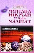 1001 Mutiara Hikmat Kata Kata Nasihat Wikipedia Bahasa Melayu Ensiklopedia Bebas