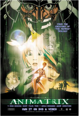 Poster tayangan pawagam filem The Animatrix