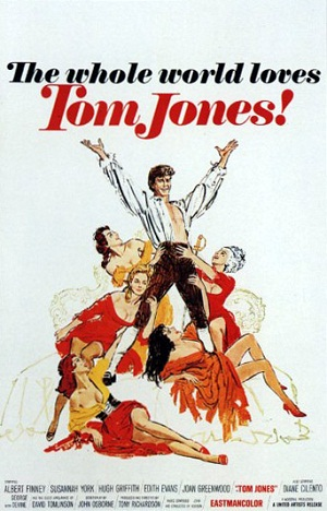Poster tayangan pawagam filem Tom Jones