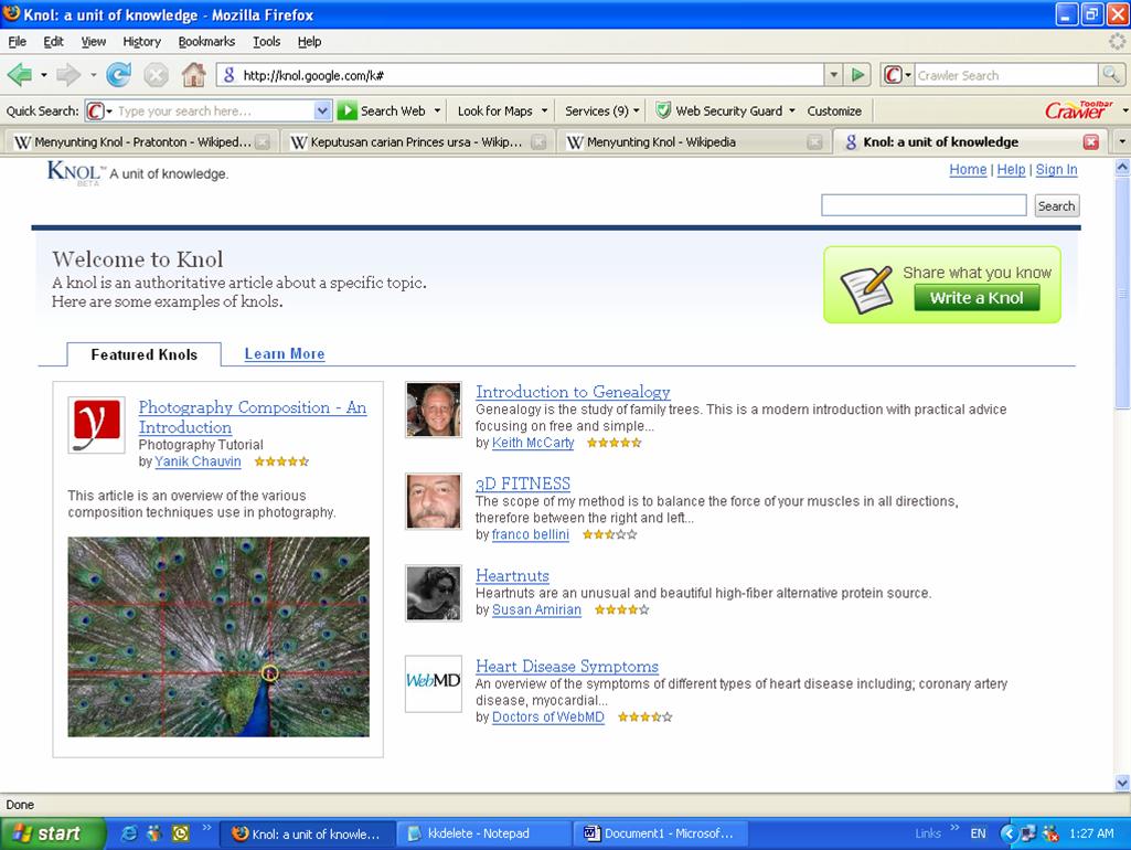 Fail Knol Screenshot Png Wikipedia Bahasa Melayu Ensiklopedia Bebas