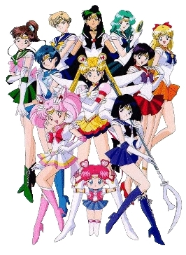 Watak Utama Sailor Moon (Anime)