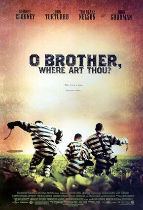 Poster tayangan pawagam filem O Brother, Where Art Thou?