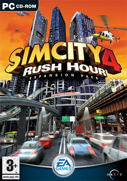 SimCity 4 - Rush Hour Coverart.png