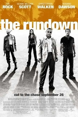 Poster tayangan pawagam filem The Rundown