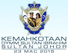 Kemahkotaan Sultan Ibrahim Ismail - Wikipedia Bahasa ...