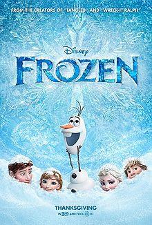 Frozen Filem 2013 Wikipedia Bahasa Melayu Ensiklopedia Bebas
