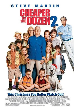 Poster Filem Cheaper by the Dozen 2.jpg
