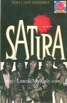 Kulit album kumpulan satira