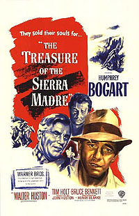 Poster tayangan pawagam filem The Treasure of the Sierra Madre