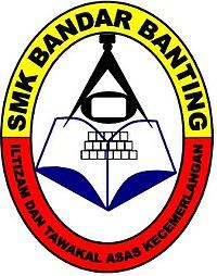 Sekolah Menengah Kebangsaan Bandar Banting - Wikipedia Bahasa Melayu, ensiklopedia bebas