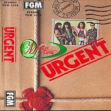 Kulit album kumpulan urgent