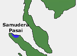 Location of Pasai