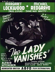 The Lady Vanishes 1938 Poster.jpg