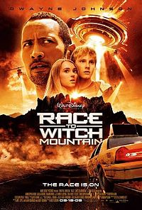 Poster tayangan pawagam filem Race to Witch Mountain