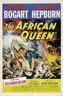 Poster tayangan pawagam filem The African Queen