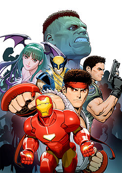 Poster awal Marvel vs Capcom 3