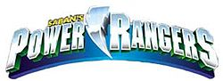 Logo Power Rangers era Saban