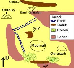 Perang Ahzab - Wikipedia Bahasa Melayu, ensiklopedia bebas