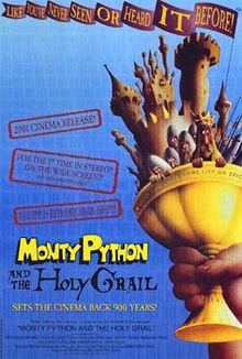 Monty python and the holy grail 2001 release movie poster.jpg