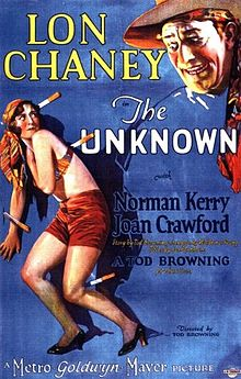 Poster Filem The Unknown, 1927.jpg